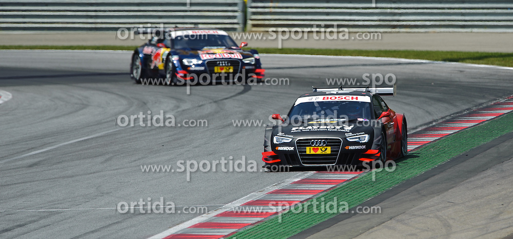 03.06.2012, Red Bull Ring, Spielberg, AUT, DTM Red Bull Ring, Qualifying, im Bild Edoardo Mortara, (ITA, Team Rosberg), Mattias Ekstroem, (SWE, ABT Sportsline) // during the DTM training day on the Red Bull Circuit in Spielberg, 2012/06/02, EXPA Pictures © 2012, PhotoCredit: EXPA/ S. Zangrando