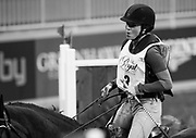 Rachel McDonough rides Irish Rhythm  in the Horseware Indoor Eventing challenge at The Royal Horse Show, TORONTO, CANADA.  November 4 2016