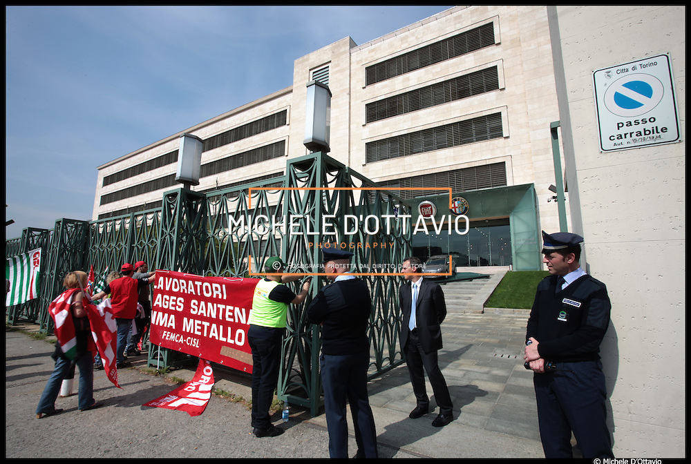 stabilimento FIAT Mirafiori a Torino
