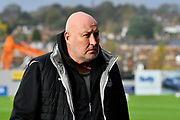 Grimsby Town manager Russell Slade before the EFL Sky Bet League 2 match between Exeter City and Grimsby Town FC at St James' Park, Exeter, England on 11 November 2017. Photo by Graham Hunt.