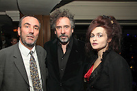 David Munns, Tim Burton and Helena Bonham Carter