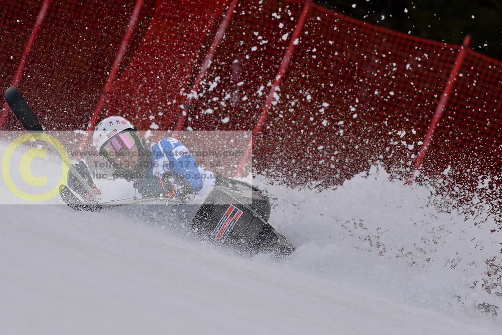 de SILVESTRO Rene LW12-1 ITA at 2018 World Para Alpine Skiing Cup, Kranjska Gora, Slovenia