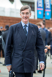 © Licensed to London News Pictures. 01/10/2019. Manchester, UK. Jacob Rees-Mogg at the Conservative Conference today on the third day of the Conservative Party Conference at Manchester Central in Manchester. Photo credit: Andrew McCaren/LNP