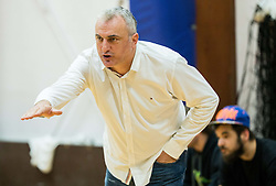 Sasa Doncic, coach of Ilirija during basketball match between KD Ilirija and KK Celje in 2. SKL za moske 2016/17, on November 25, 2016 in Ljubljanski grad, Ljubljana, Slovenia. Photo by Vid Ponikvar / Sportida