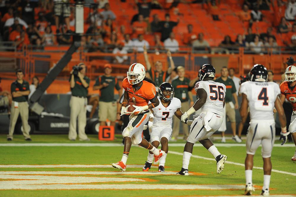 2011 Miami Hurricanes Football vs Virginia
