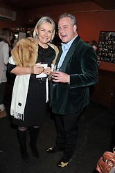 HEINI AL-FAYED and JAMES FAWCETT at a party to relaunch PR First London, held at the 606 Club, Lots Road, London SW10 on 16th January 2013.
