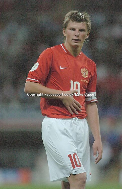 ANDREY ARSHAVIN, Russia,   England-Russia, UEFA Euro 2008 Qualifier, Wembley 12/9/07