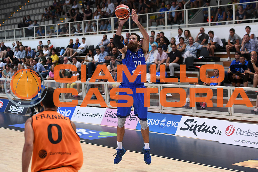 Luigi Datome<br /> Nazionale Italiana Maschile Senior - Trentino Basket Cup 2017<br /> Italia - Paesi Bassi / Italy - Netherlands<br /> FIP 2017<br /> Trento, 30/07/2017<br /> Foto Agenzia Ciamillo-Castoria