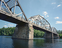 Rt. 11 Bridge over the Connecticut River at Charlestown, NH
