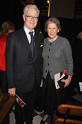 LORD & LADY HURD at a carol concer 'Carols From Chelsea - A Celebration of Christmas' held at the Royal Hospital Chapel, Chelsea in aid of The Institute of Cancer Research on 4th December 2007.<br /><br />NON EXCLUSIVE - WORLD RIGHTS