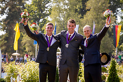 DodderTeam Belgium, Simonet Edouard, Degrieck Dries, Glenn Geerts, Kindt Filip, chef d'equipe<br /> Prizegiving FEI rider of the year<br /> Driving European Championship <br /> Donaueschingen 2019<br /> © Hippo Foto - Dirk Caremans<br /> Team Belgium, Simonet Edouard, Degrieck Dries, Glenn Geerts, Kindt Filip, chef d'equipe