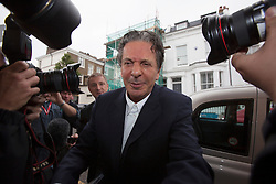© licensed to London News Pictures. London, UK 18/06/2013. Charles Saatchi, husband of Nigella Lawson, arriving his house in west London on Tuesday, 18 June 2013. Photo credit: Tolga Akmen/LNP