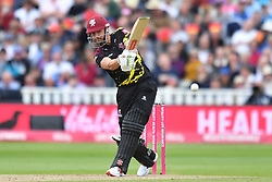 Somerset's James Hildreth bats during the Vitality T20 Blast Semi Final match on Finals Day at Edgbaston, Birmingham.