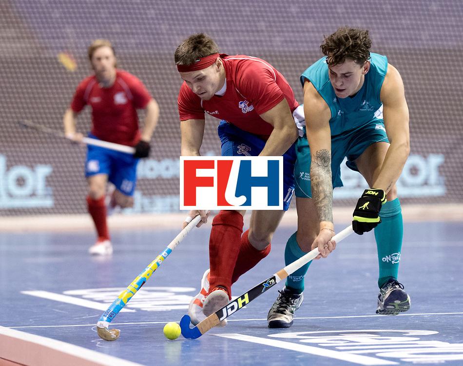 BERLIN - Indoor Hockey World Cup<br /> Men: Australia - Czech Republic<br /> foto: PLOCH&Yacute; Lukas.<br /> WORLDSPORTPICS COPYRIGHT FRANK UIJLENBROEK