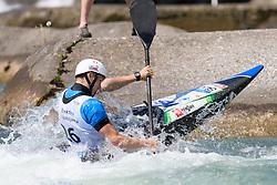 Martin SRABOTNIK of Slovenia during the Kayak Single (MK1) Mens Semi Final race of 2019 ICF Canoe Slalom World Cup 4, on June 30, 2019 in Tacen, Ljubljana, Slovenia. Photo by Sasa Pahic Szabo / Sportida