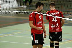 20161029 NED: Eredivisie, Vallei Volleybal Prins - Advisie SSS: Ede<br />Chris Ogink, Joris Zwanenburg of Vallei Volleybal Prins <br />©2016-FotoHoogendoorn.nl / Pim Waslander