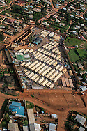 Gikondo Prison in Kigali Rwanda where many accused during of genocide were imprisoned.