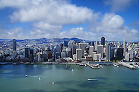 San Francisco Skyline (Aerial)