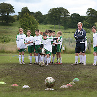 Young soccer players  enjoying the FAI Soccer Camp at Ballycasey on Friday last.<br /> <br /> Photograph by Eamon Ward