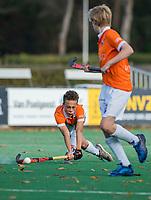BLOEMENDAAL - tijdens de competitiewedstrijd hockey jongens B , Bloemendaal JB1-Breda JB1 (3-2)  , COPYRIGHT KOEN SUYK