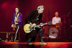 Keith Richards of The Rolling Stones live on stage at Gelredome in Arnhem, The Netherlands, as part of their No Filter Tour on October 17, 2017. Photo by Robin Utrecht/ABACAPRESS.COM
