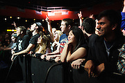 Reel Big Fish fans during the band's performance at the Pageant in St. Louis on January 15, 2013.