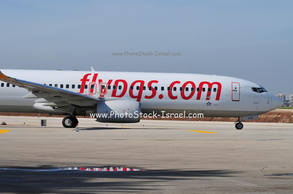 Israel, Ben-Gurion international Airport Pegasus Airlines