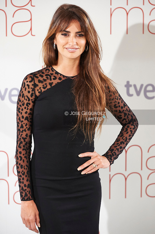 Penelope Cruz attends 'Ma ma' photocall at the Villamagna Hotel on September 8, 2015 in Madrid, Spain.
