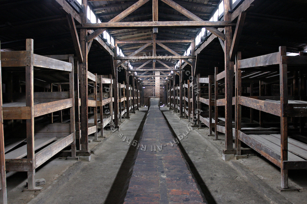 Auschwitz Concentration Camp. Rooms, on Sunday, Apr. 16, 2006. **ITALY OUT**