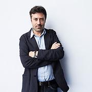 Torino, Italy, May 10, 2014. Andrea Bajani, Italian writer.