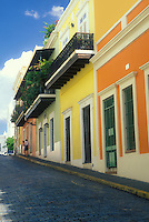 Colorful homes of Calle Cristo