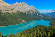 North America, Canada, Canadian,Alberta, Rocky Mountains, Banff National Park, UNESCO, World Heritage, Peyto Lake