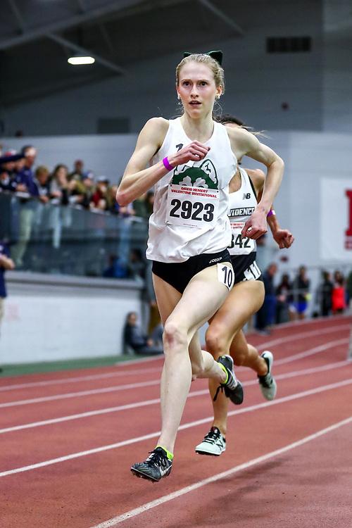 David Hemery Valentine Invitational<br /> Indoor Track & Field at Boston University , womens 3000 meters, heat 1,  Hufsmith,