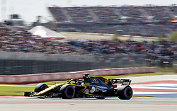 October 22, 2018 - Austin, United States - Motorsports: FIA Formula One World Championship; 2018; Grand Prix; United States, FORMULA 1 PIRELLI 2018 UNITED S GRAND PRIX , Circuit of The Americas#27 Nico Hülkenberg (Renault Sport F1 Team) (Credit Image: © Hoch Zwei via ZUMA Wire)