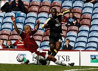 Photo: Paul Greenwood/Richard Lane Photography. <br /> Burnley v Cardiff City. Coca-Cola Championship. 26/04/2008.