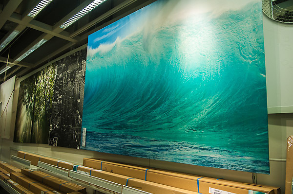 Mark A Johnson Wave photo in Ikea Store