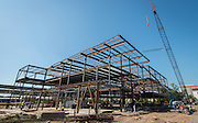 Construction at the new Mandarin Chinese Language Immersion Magnet School, October 19, 2015.