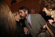 CANDIDA LYCETT GREEN AND JEREMY IRONS, Oldie magazine's Oldie of the Year Awards 2006. Simpson's. the Strand. London.21 March 2006.  ONE TIME USE ONLY - DO NOT ARCHIVE  © Copyright Photograph by Dafydd Jones 66 Stockwell Park Rd. London SW9 0DA Tel 020 7733 0108 www.dafjones.com