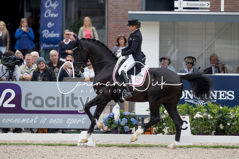 Schneider Dorothee, GER, Sezuan<br /> World Championship Young Dressage Horses <br /> Ermelo 2016<br /> &copy; Hippo Foto - Dirk Caremans<br /> 29/07/16