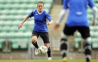 Fotball<br /> Norge<br /> 04.05.2011<br /> Foto: Morten Olsen, Digitalsport<br /> <br /> Trening Norge A kvinner<br /> Nadderud Stadion<br /> Internkamp - Norge Blå mot Norge Hvit<br /> <br /> Gry Tofte Ims