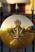 Crest on Palace Gates, Muscat, Oman