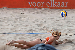 18-07-2018 NED: CEV DELA Beach Volleyball European Championship day 4<br /> Laura Bloem NED #2