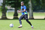 Forest Green Rovers Dale Bennett during the Forest Green Rovers Training at the Cirencester Agricultural College, Cirencester, United Kingdom on 12 July 2016. Photo by Shane Healey.