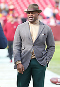 Nov 18, 2018; Landover, MD, USA; Executive Director of the National Football League Players Association (NFLPA), DeMaurice Smith walks the sideline at FedEx Field before a game between the Houston Texans and the Washington Redskins. The Texans beat the Redskins 23-21. (Steve Jacobson/Image of Sport)