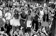 Immersion crowd, Reclaim the Streets London, Shepherd's Bush, July 1996