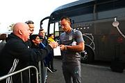 Aston Villa's John Terry arrives at the Pirelli Stadium during the EFL Sky Bet Championship match between Burton Albion and Aston Villa at the Pirelli Stadium, Burton upon Trent, England on 26 September 2017. Photo by John Potts.