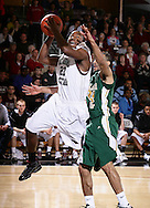 February 20, 2010: The Oklahoma Baptist University Bison play against the Oklahoma Christian University Eagles at the Eagles Nest on the campus of Oklahoma Christian University.