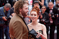 T.J. Miller and Kate Gorney at the Wonderstruck gala screening,  at the 70th Cannes Film Festival Wednesday May 17th 2017, Cannes, France. Photo credit: Doreen Kennedy