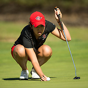 23 March 2016: The San Diego State Aztecs hosted March Mayhem at The Farms. The Aztecs took fifth place overall in the match play tournament held at The Farms in Rancho Santa Fe, California. www.sdsuaztecphotos.com