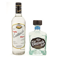 Tequila Centinela Blanco (old vs. new bottle designs) -- Image originally appeared in the Tequila Matchmaker: http://tequilamatchmaker.com